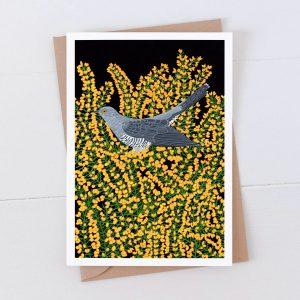 Cuckoo Garden Bird Greeting Card