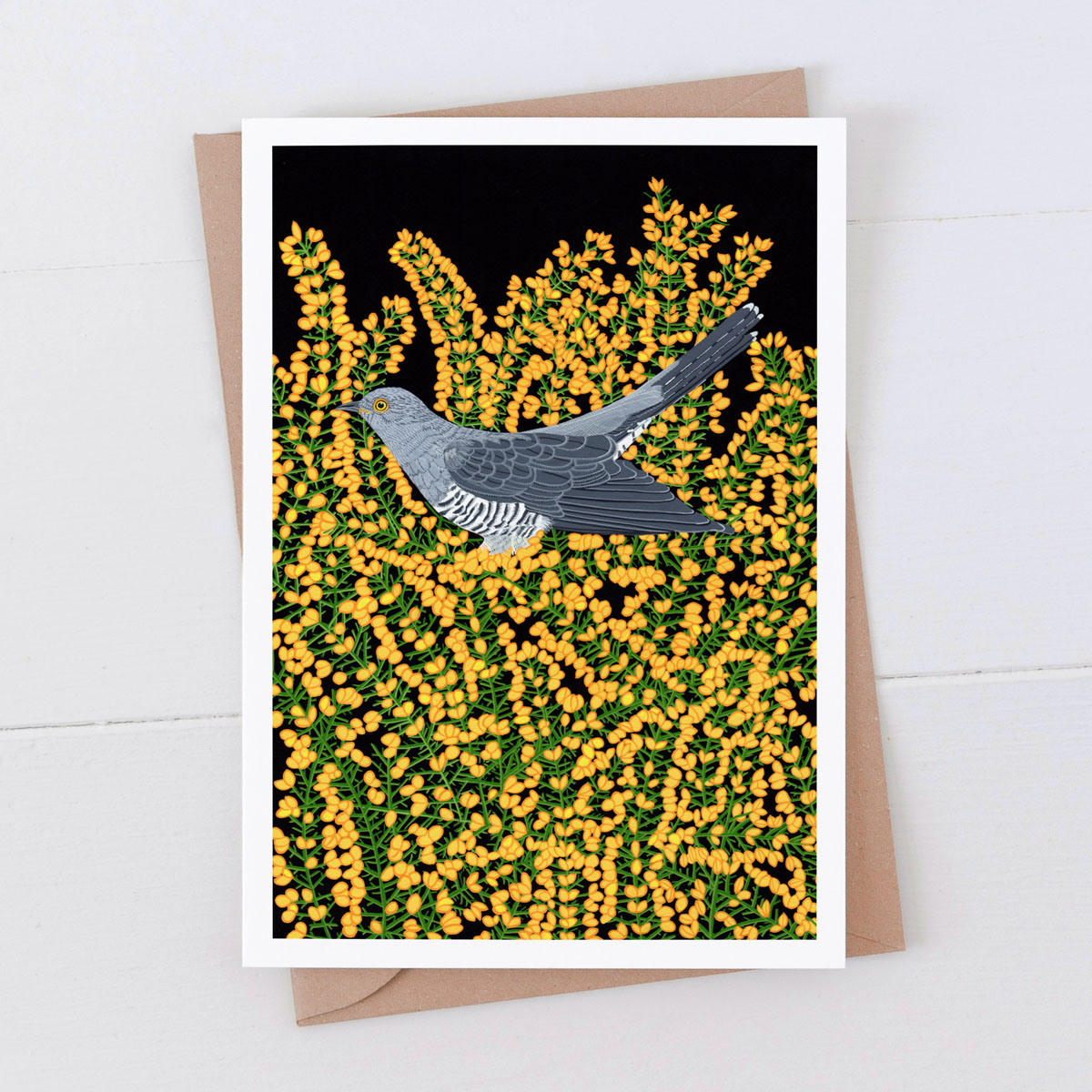 Cuckoo Garden Bird Greeting Card