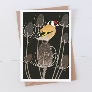 Goldfinch Garden Bird Greeting Card