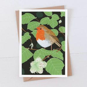 Robin Garden Bird Greeting Card