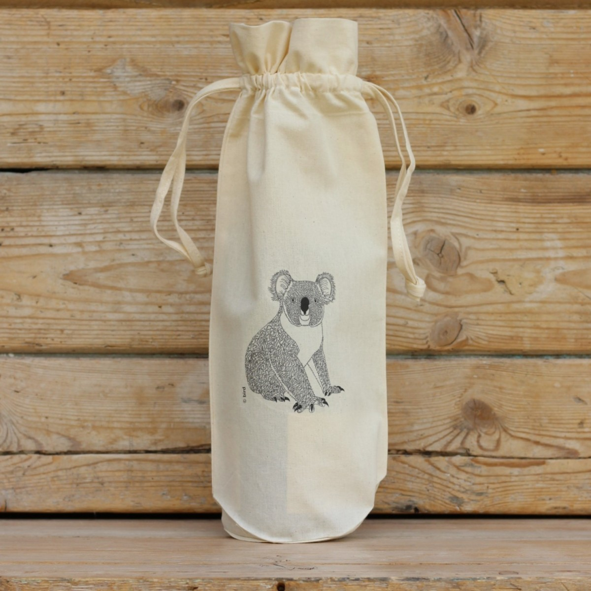 Koala Cotton Bottle Gift Bag