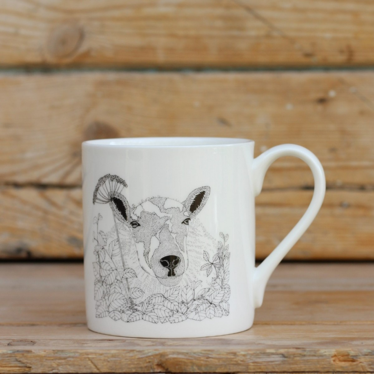 Sheep Bone China Mug