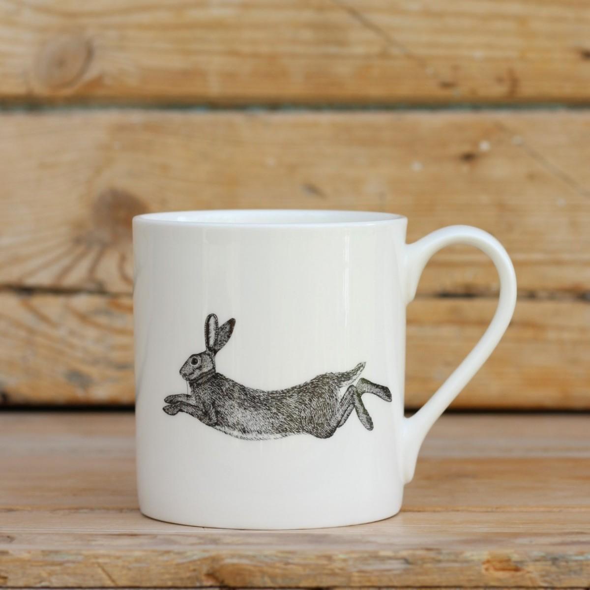 Hare Bone China Mug