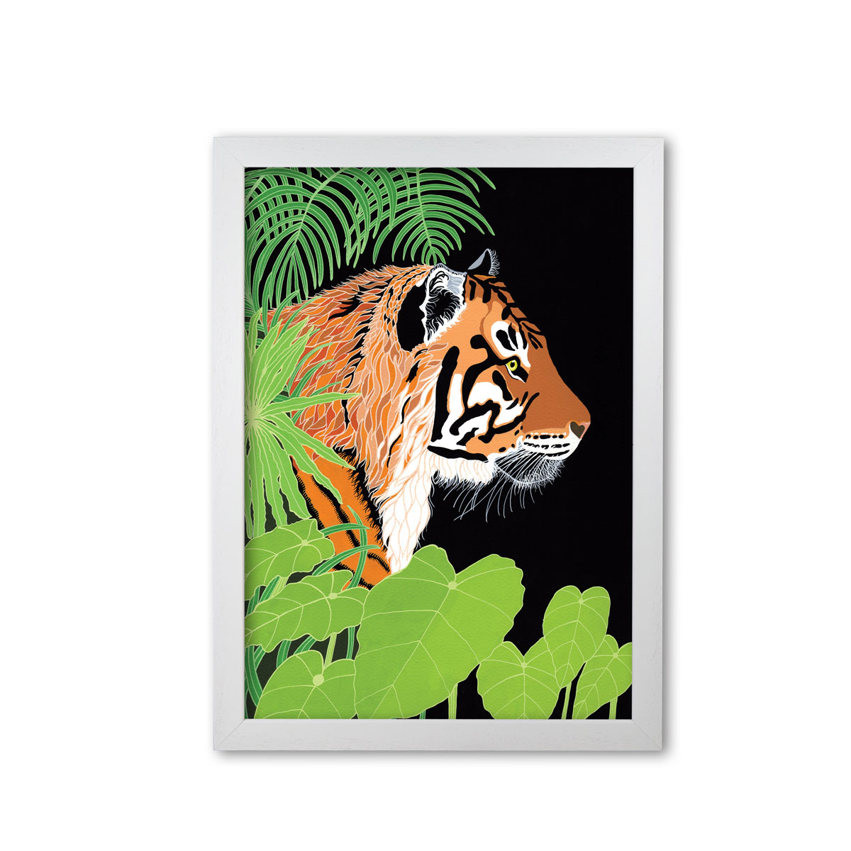 Bengal Tiger Art Print By Bird The Artist