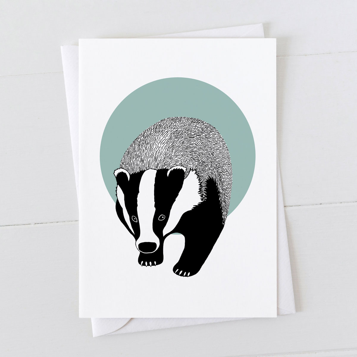 Badger Spot Greeting Card