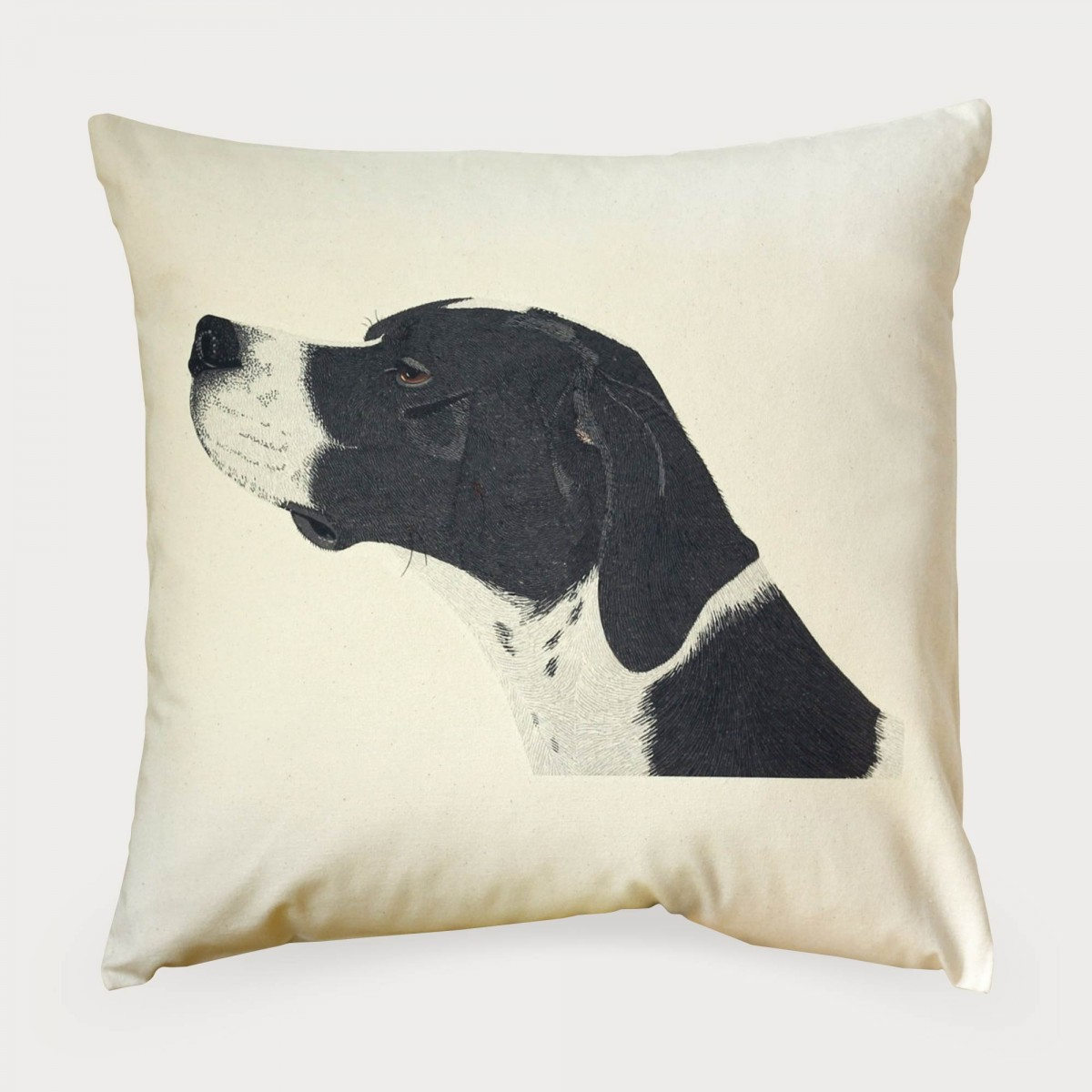 English Pointer Dog Cushion Cover