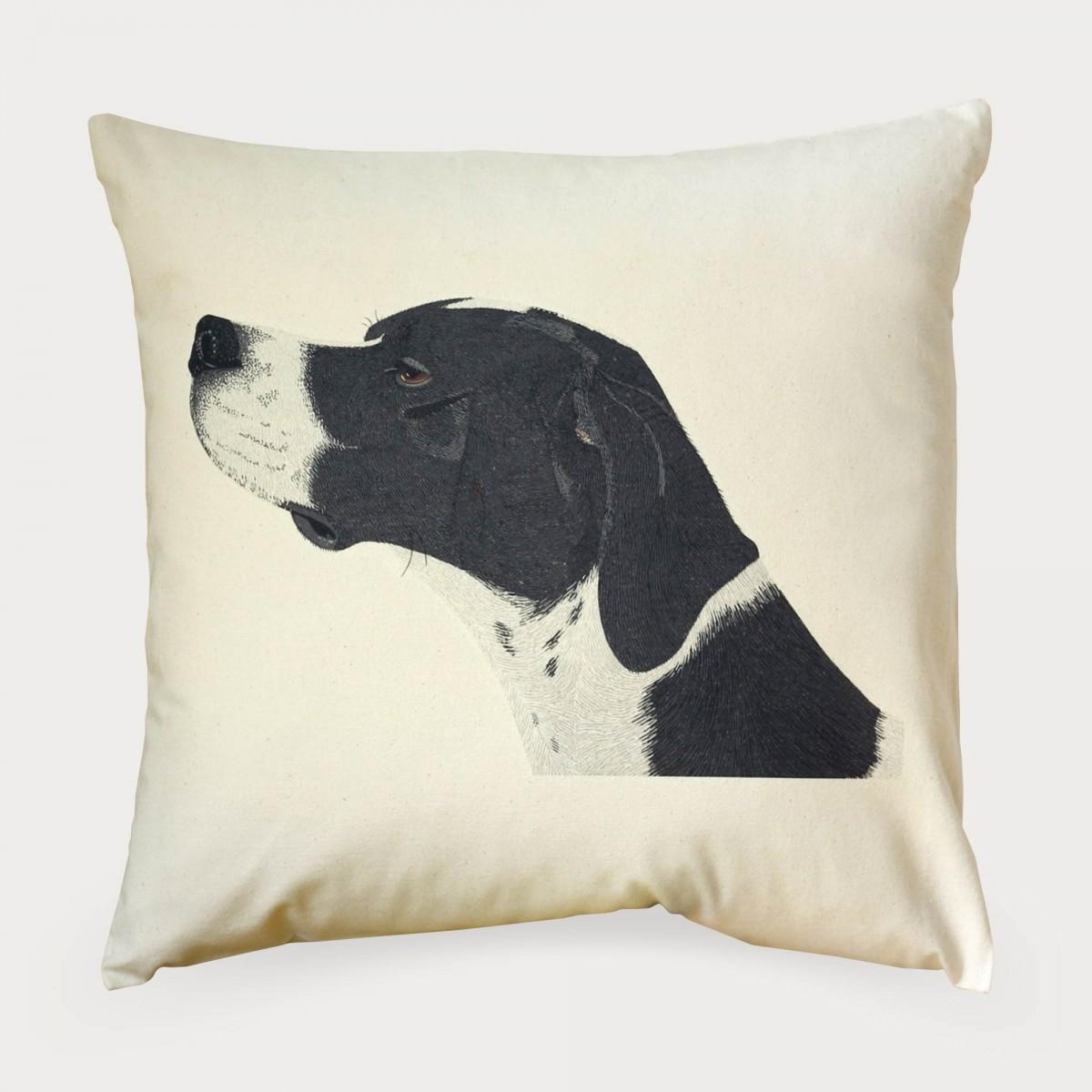 English Pointer Dog Cushion Cover
