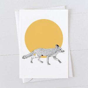 Fox Spot Greeting Card