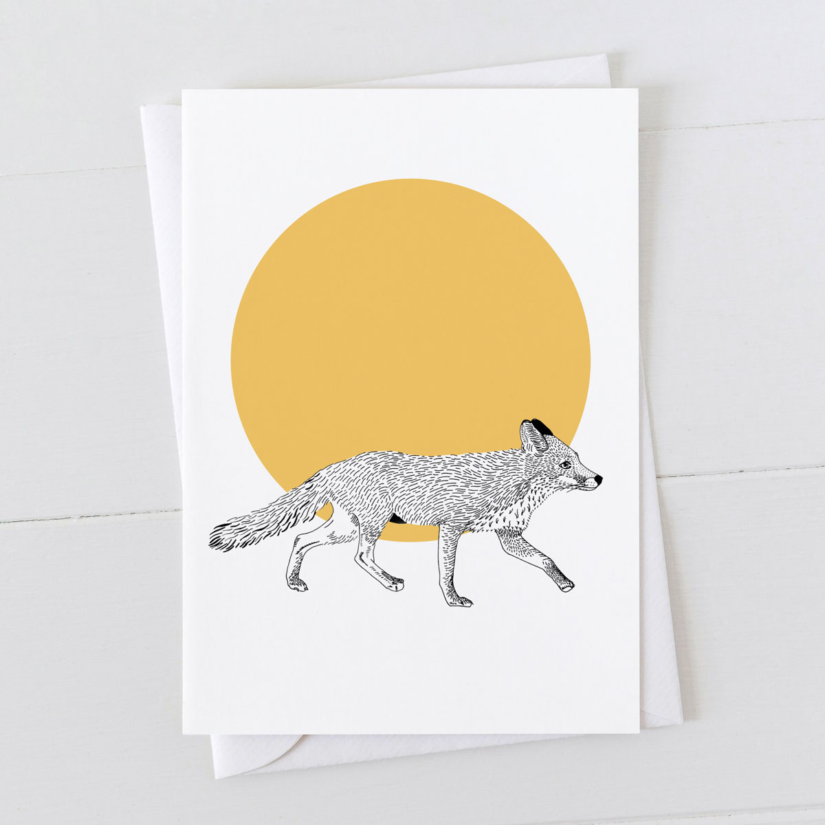 Fox Spot Greeting Card
