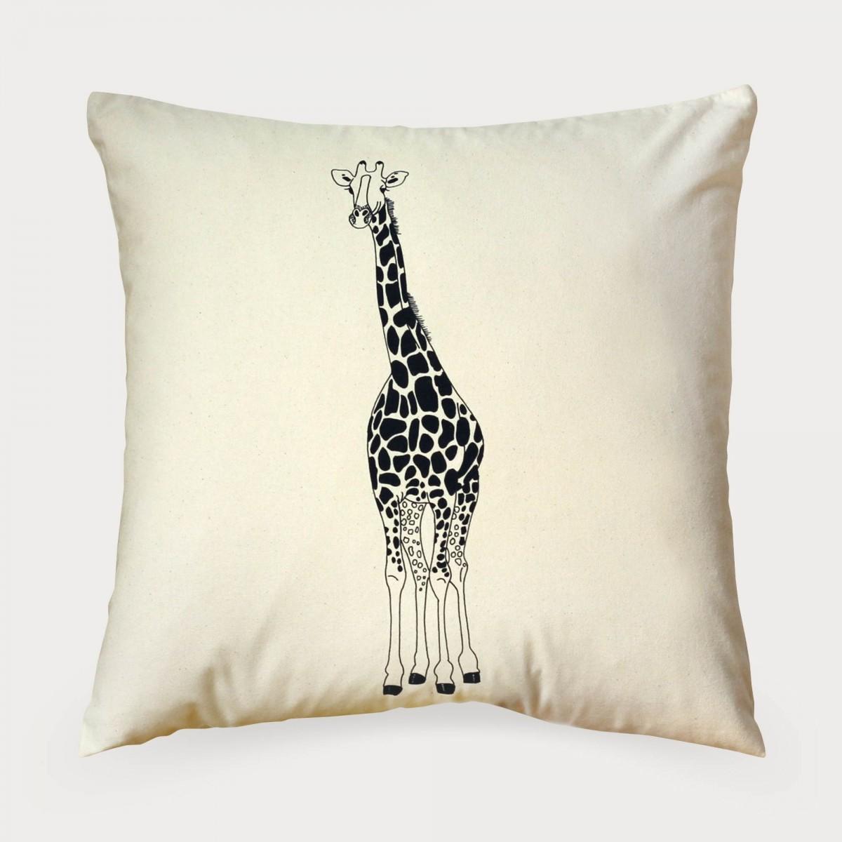 Giraffe Print Cushion Cover