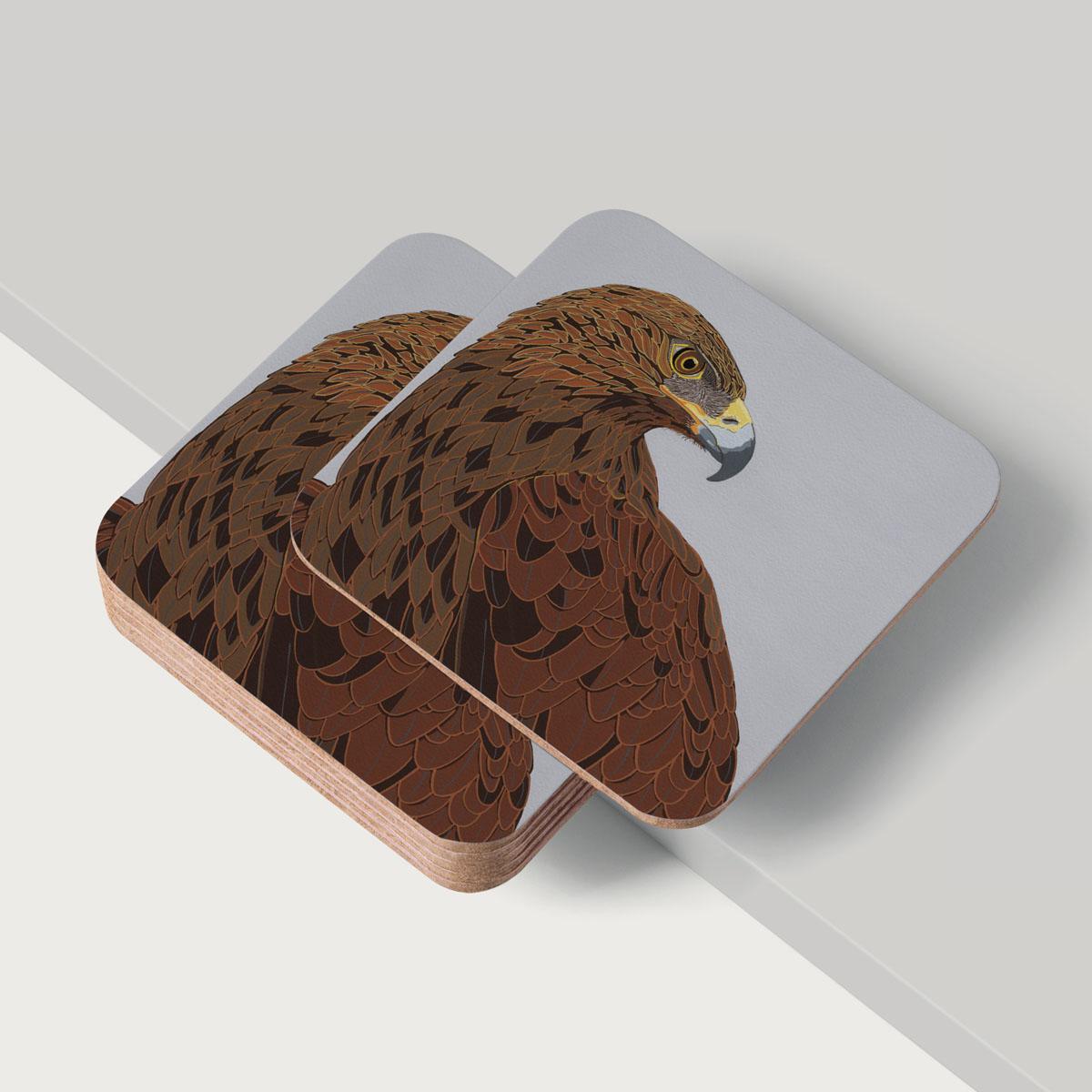 Golden Eagle Coaster Homewares