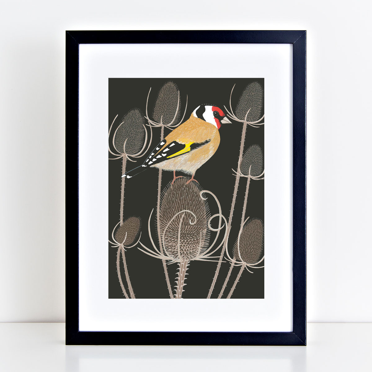 Goldfinch Garden Bird Mounted And Framed Print
