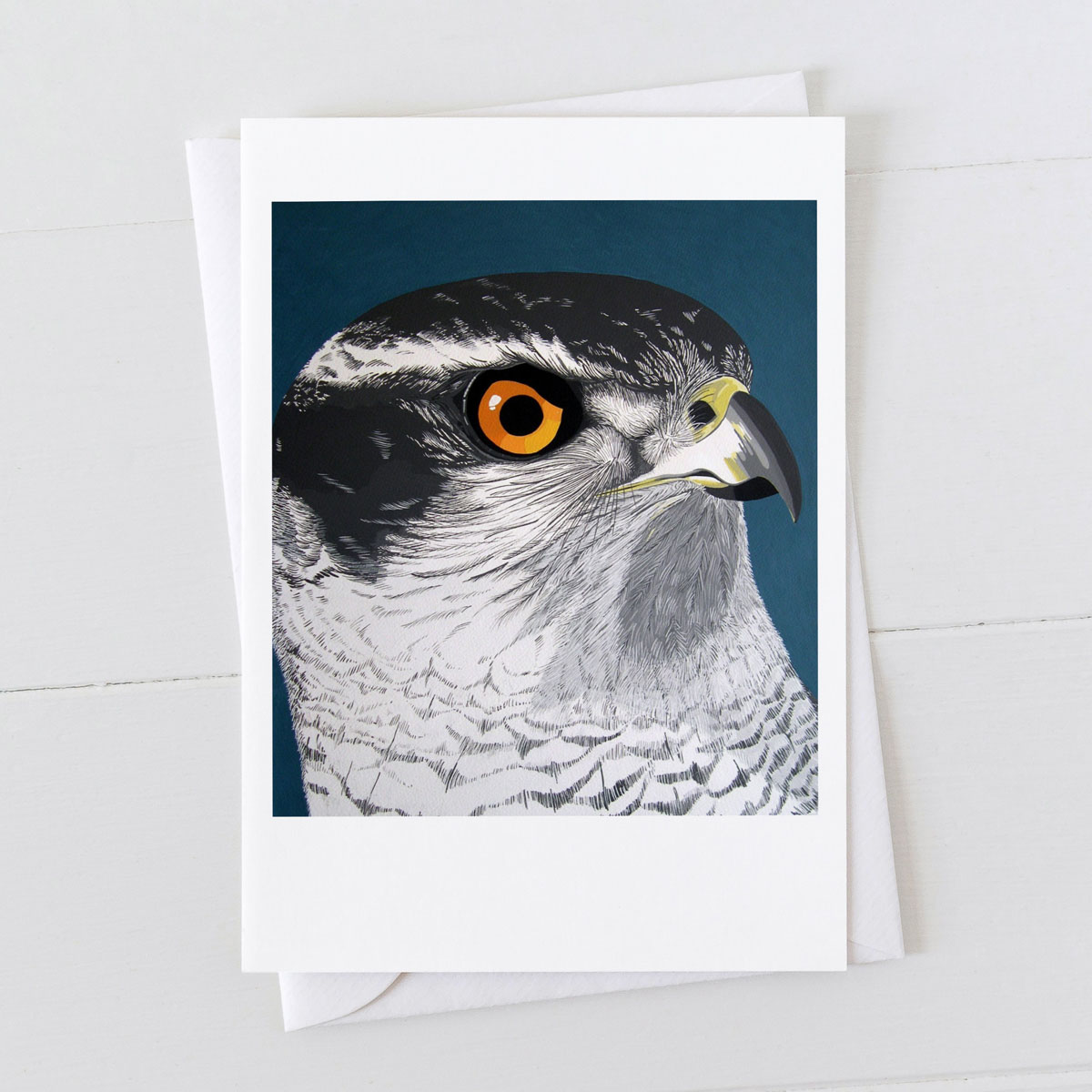 Goshawk Bird Of Prey Greeting Card