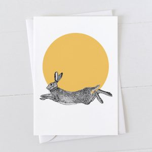 Hare Spot Greeting Card