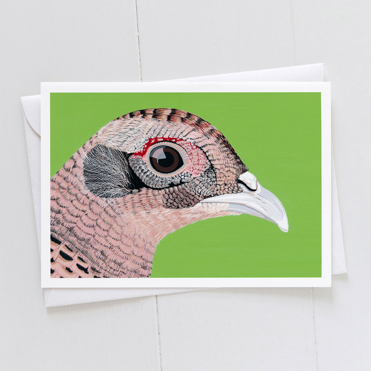 Hen Pheasant Greeting Card