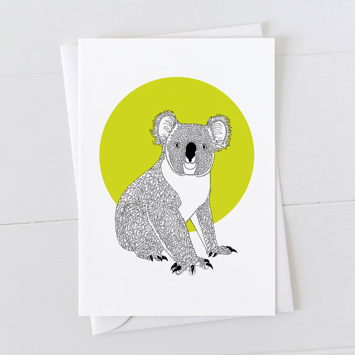 Koala Spot Greeting Card
