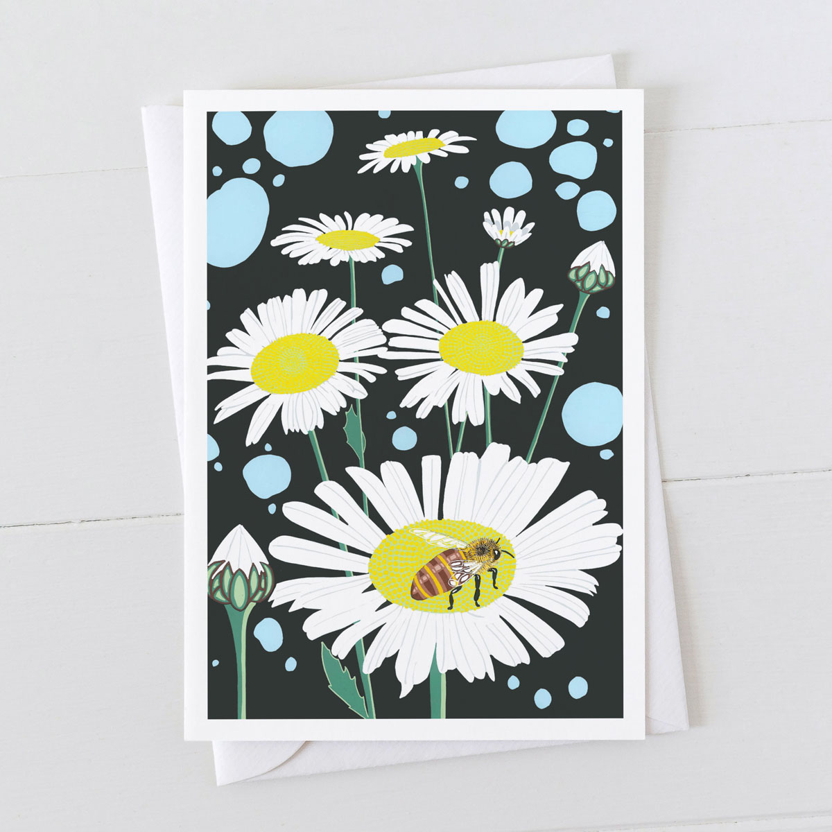 Michaelams Daisies Greeting Card