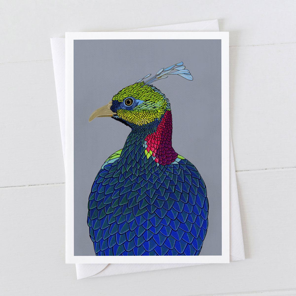 Molan Pheasant Greeting Card