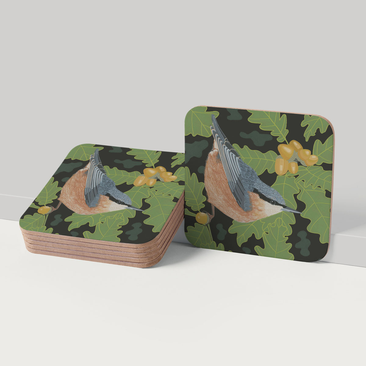 Nuthatch Bird Placemat Tableware