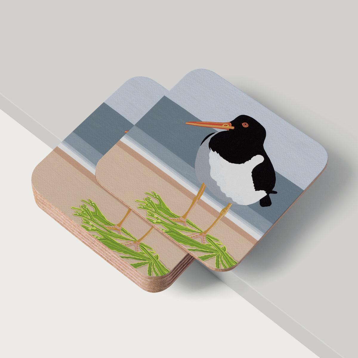 Oystercatcher Bird Coaster