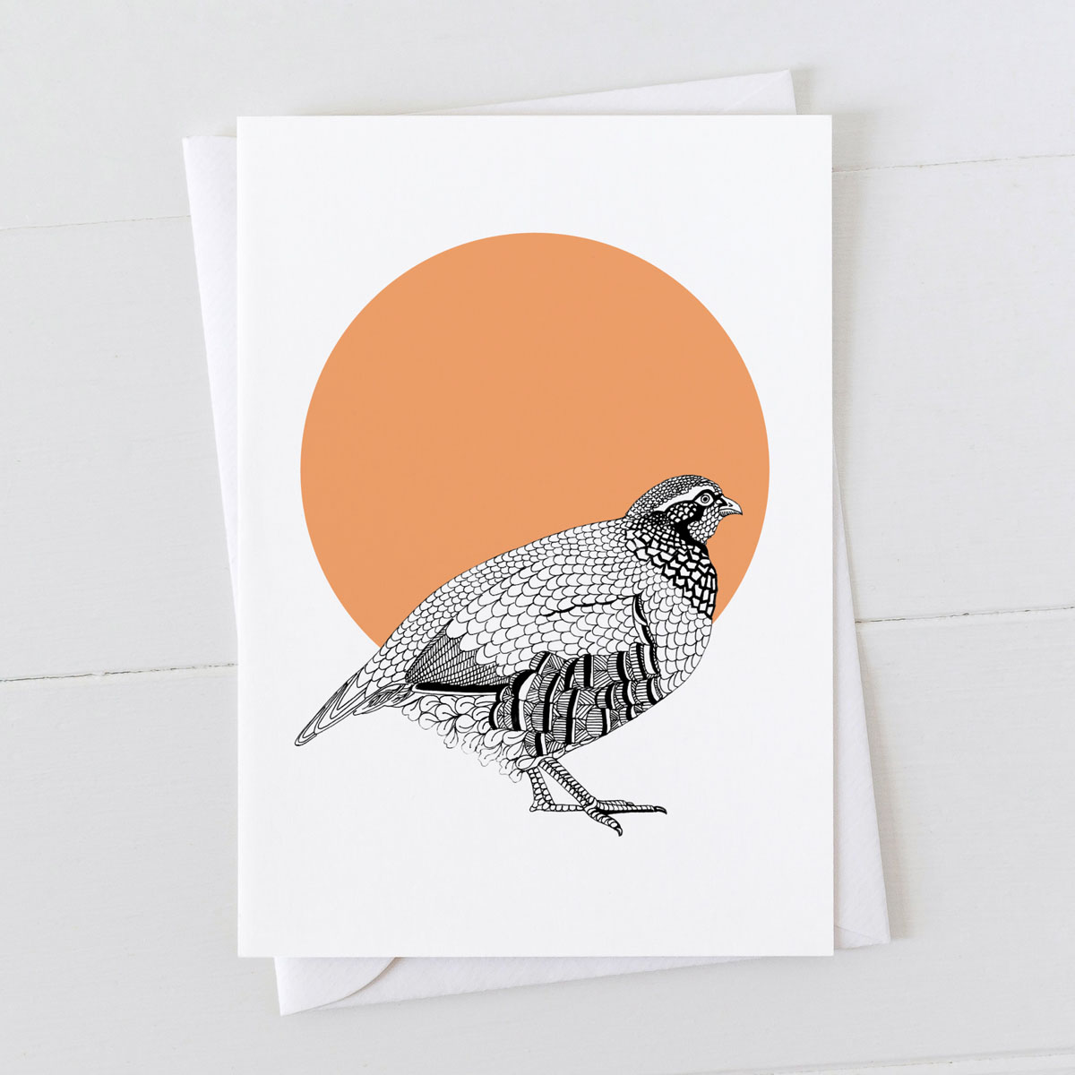 Partridge Spot Greeting Card