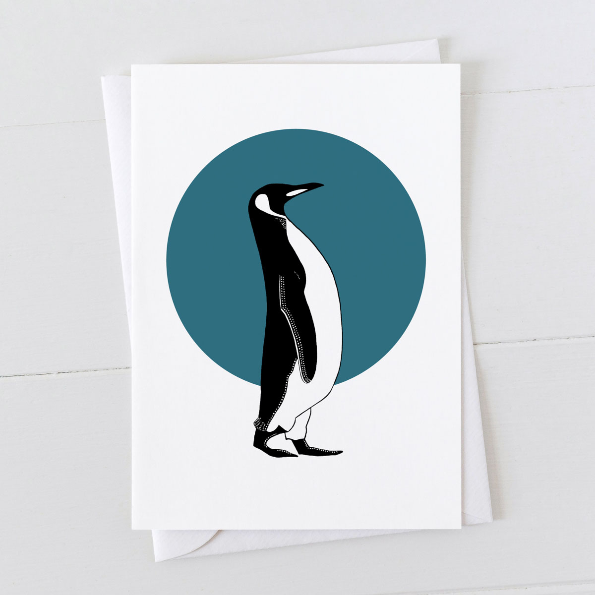 Penguin Spot Greeting Card