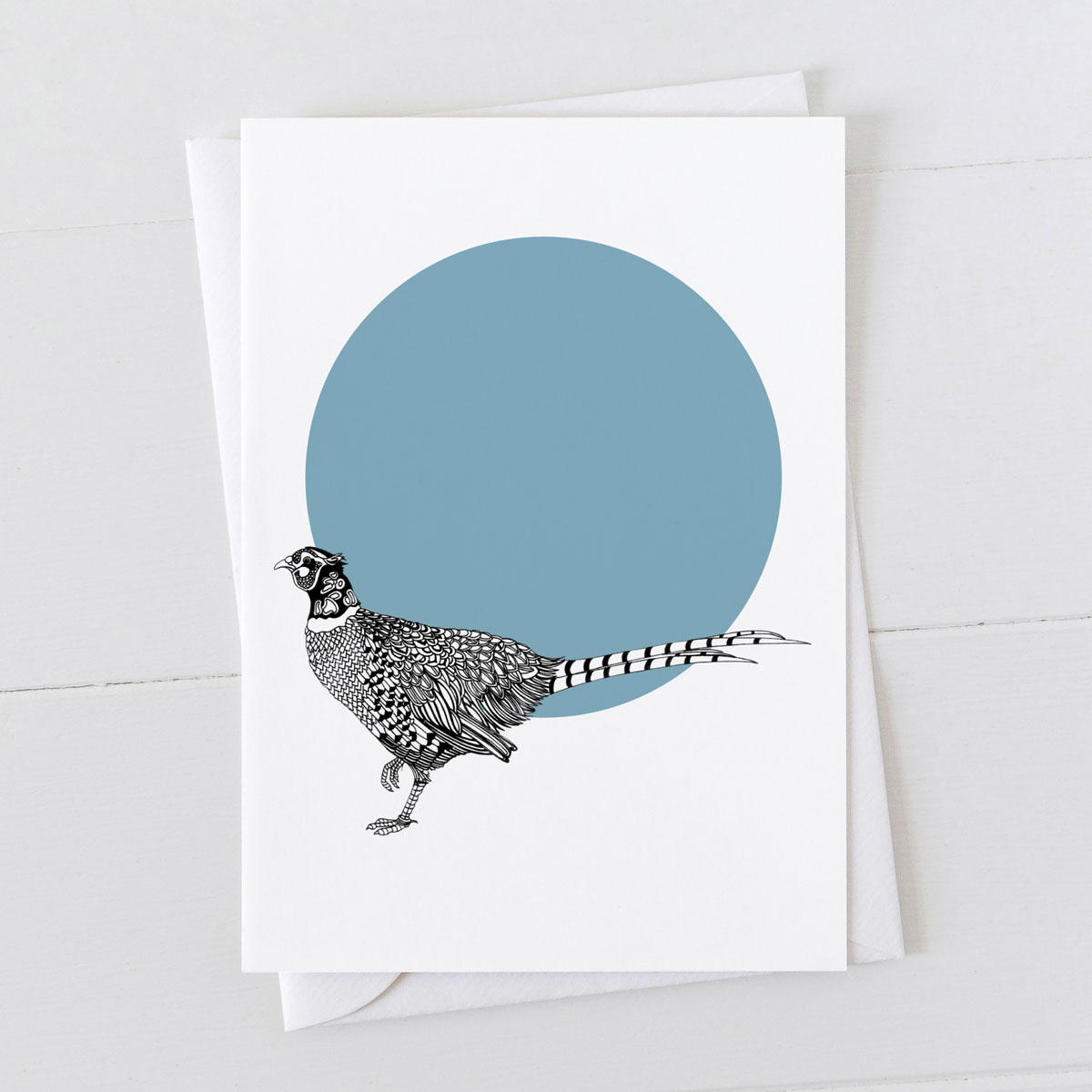 Pheasant Spot Greeting Card