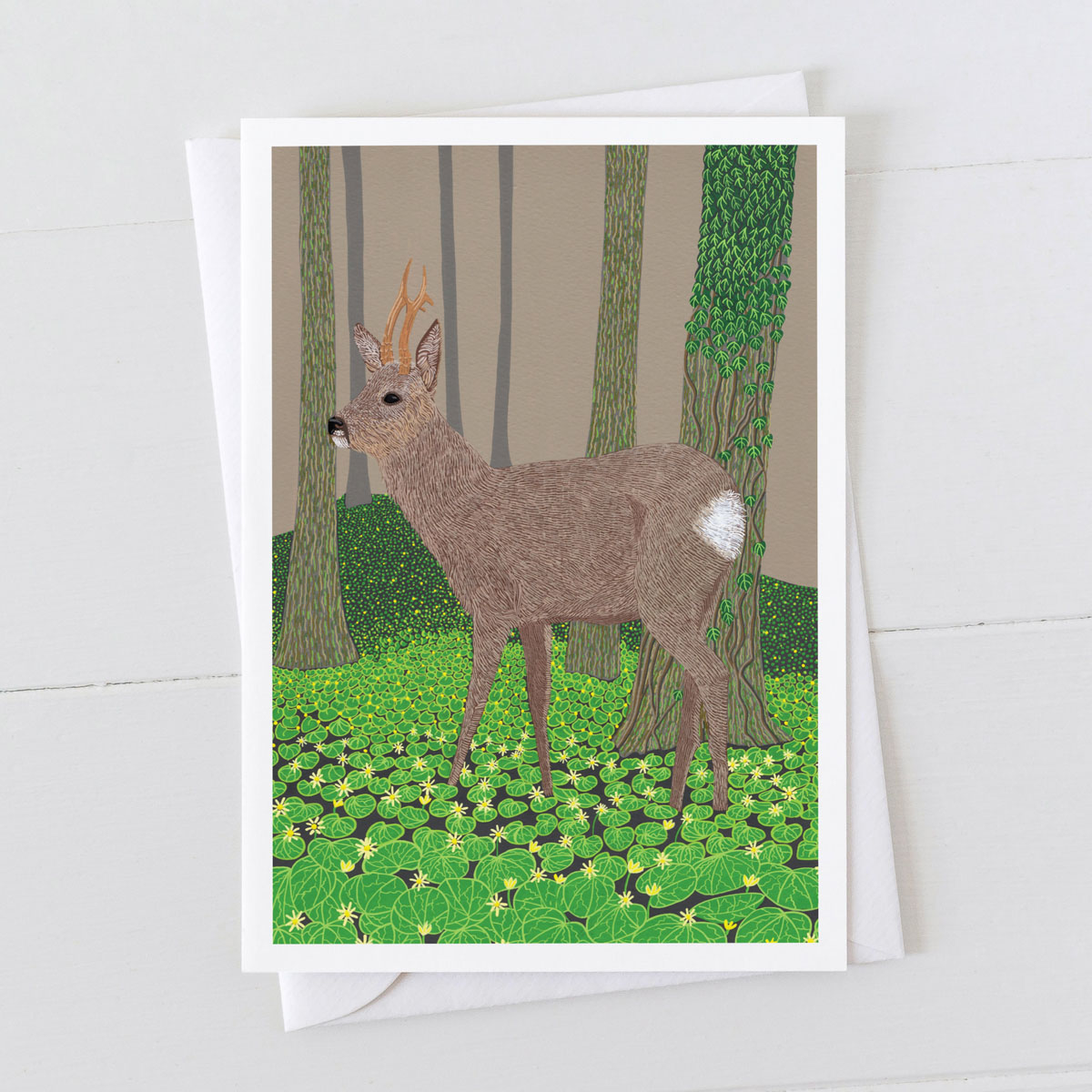 Roe Deer Greeting Card