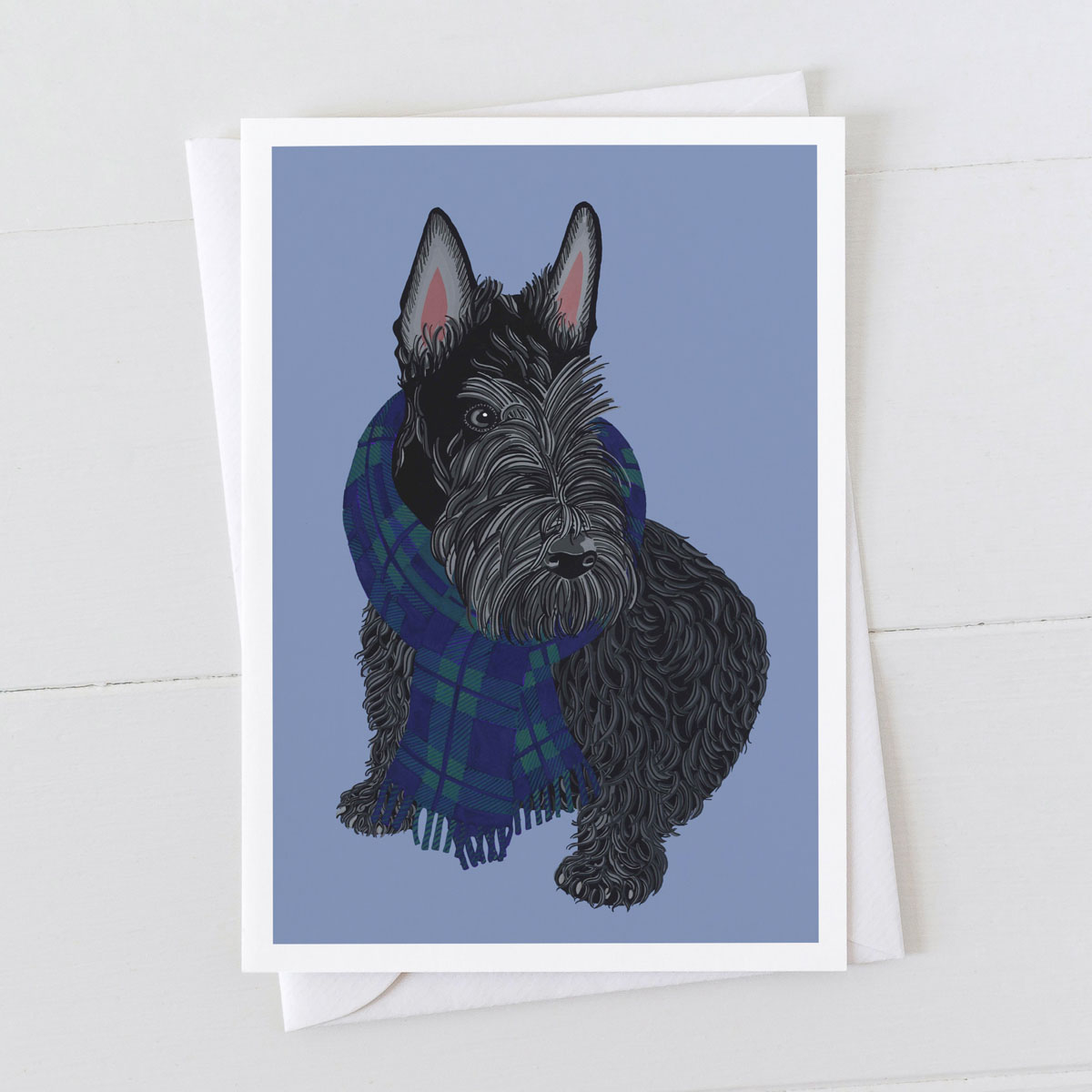 Scottie Scottish Terrier Greeting Card