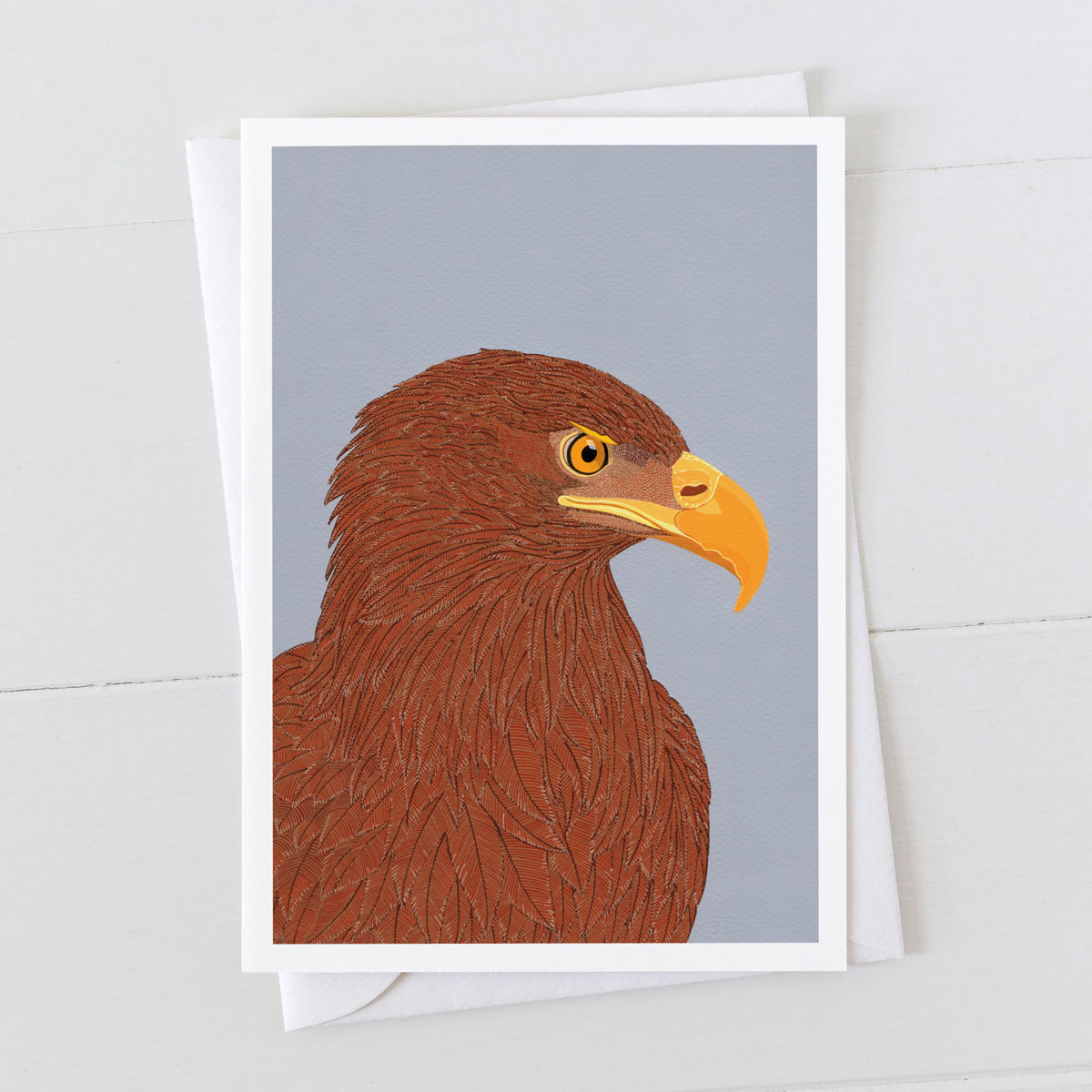 Sea Eagle Bird Of Prey Greeting Card