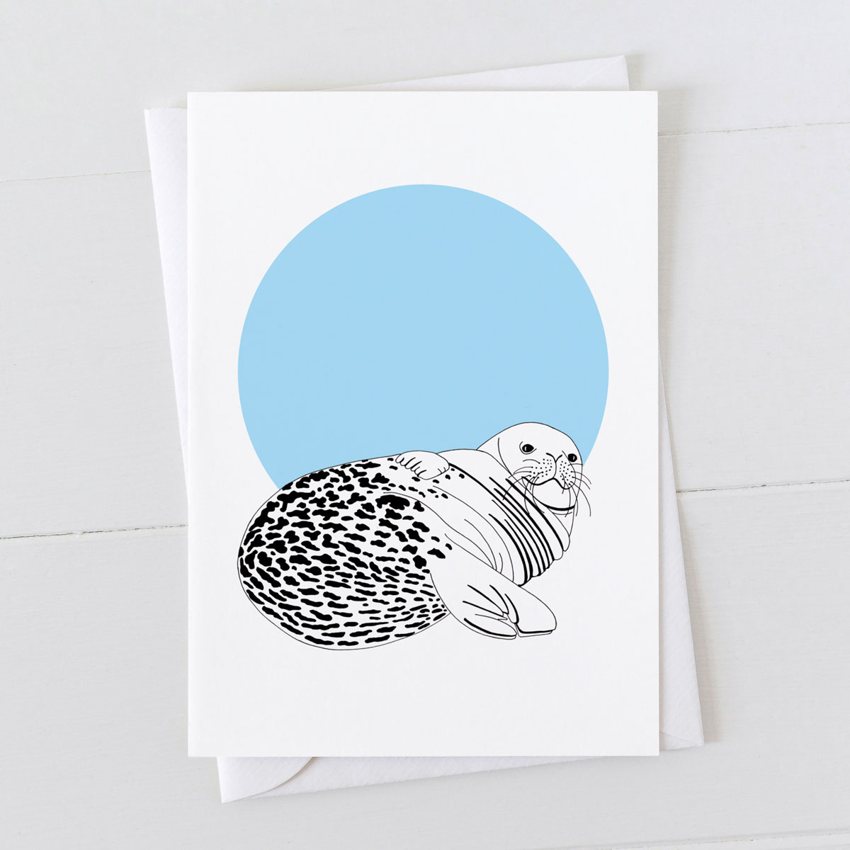 Seal Spot Greeting Card