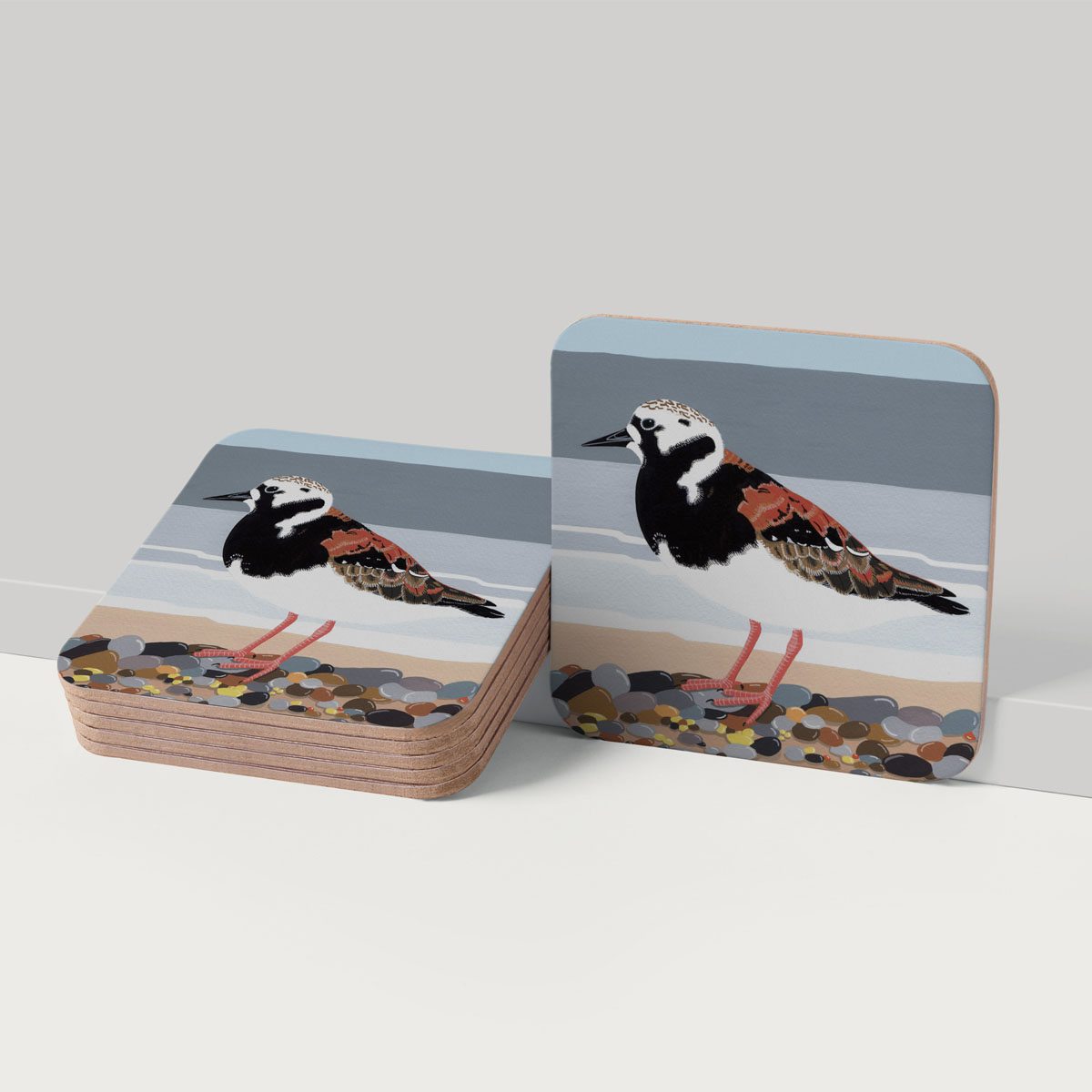 Turnstone Bird Coaster Tableware