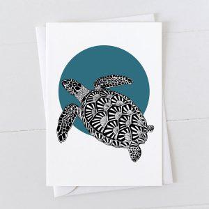 Turtle Spot Greeting Card
