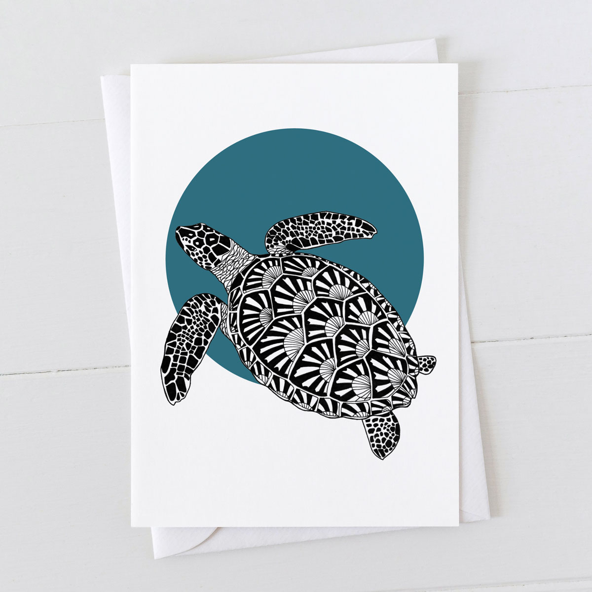 Turtle Spot Greeting Card