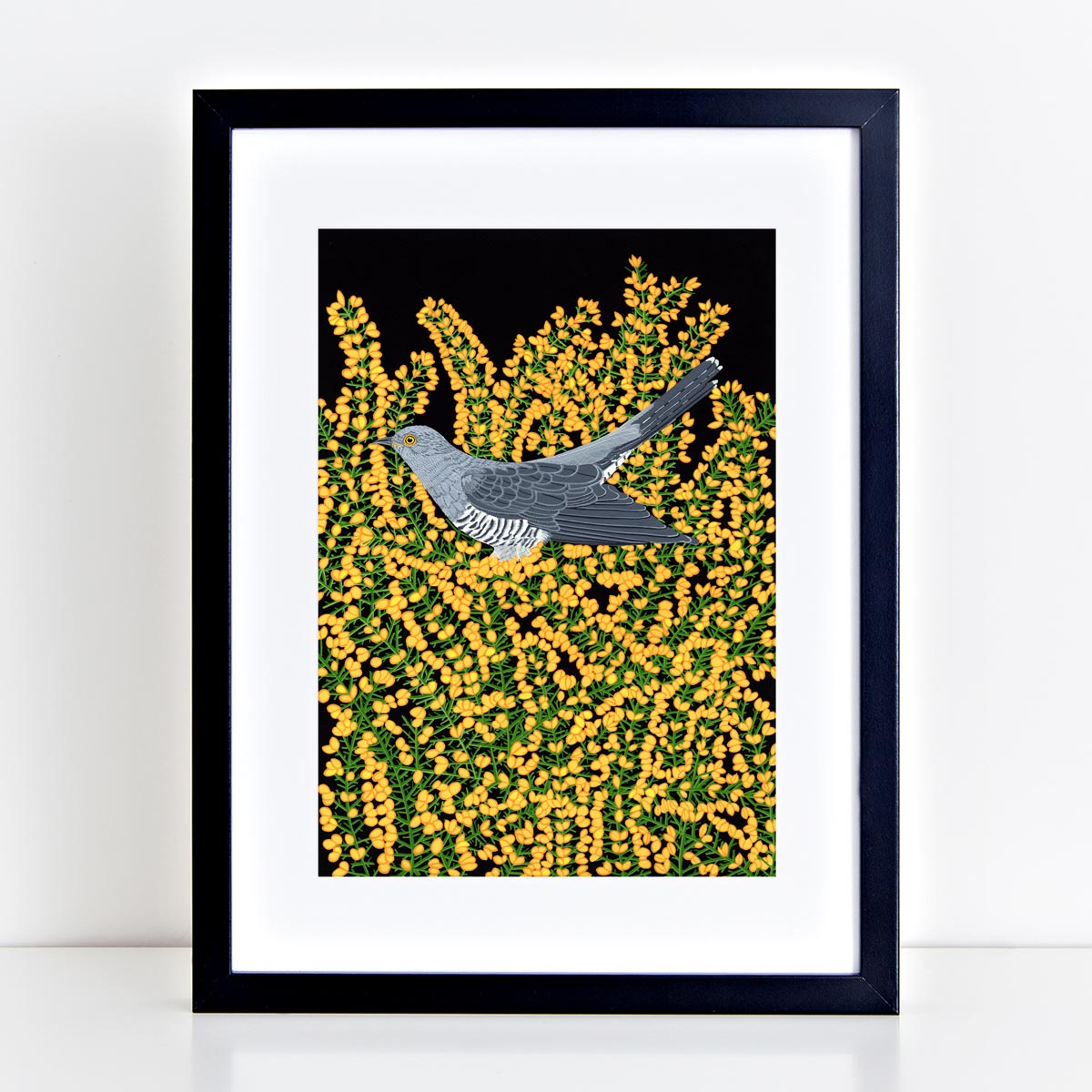 Cuckoo Print By Bird the Artist