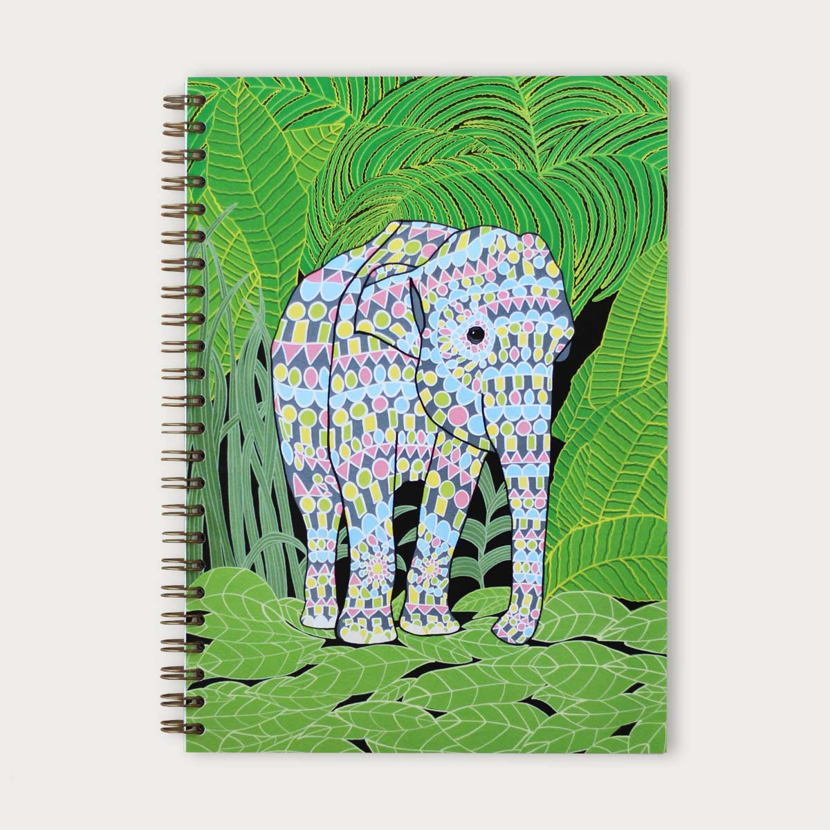 Indian Elephant Notebook