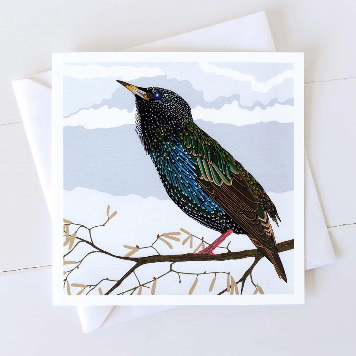 Starling Bird by Bird the Artist